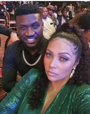 Peter Okoye and Lola Omotayo