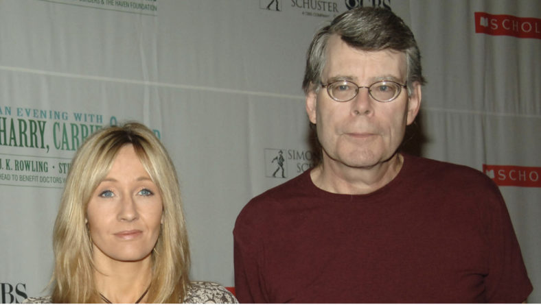 J.K Rowling Stephen King