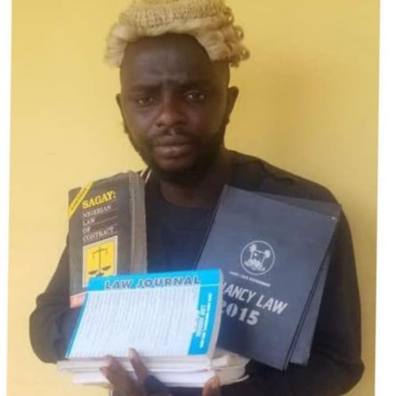EKSU Dropout Turned Fake Lawyer Nabbed For Swindling Many