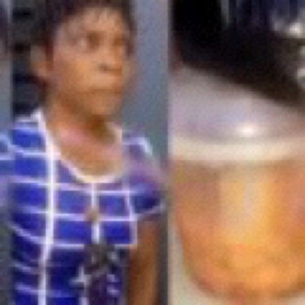 Drama As Assorted Meat Seller Refuses To Eat Her Meat In Lagos (Video)