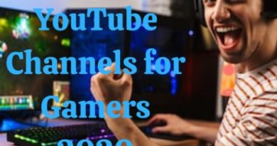 Youtube channels for gamers
