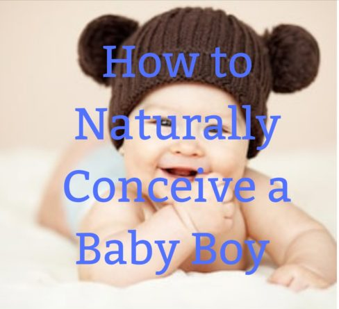 Naturally conceived baby boy