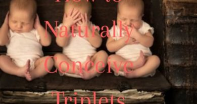 Naturally Conceive triplets