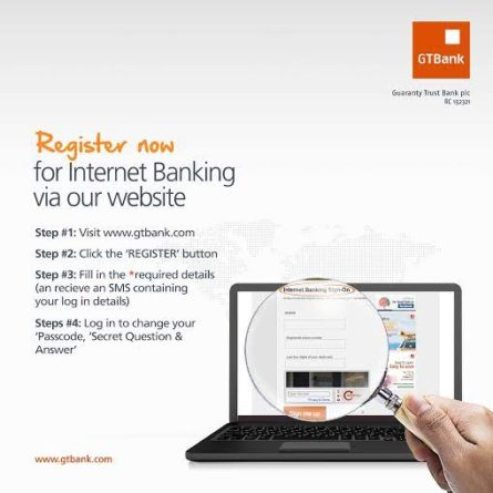 How to Access Guaranty Trust Bank Internet Banking