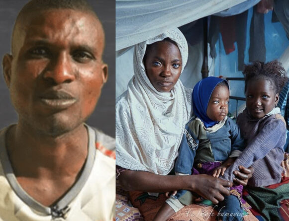 Man Who Abandoned His Wife and Daughters Because Of Their Blue Eyes Finally Speaks