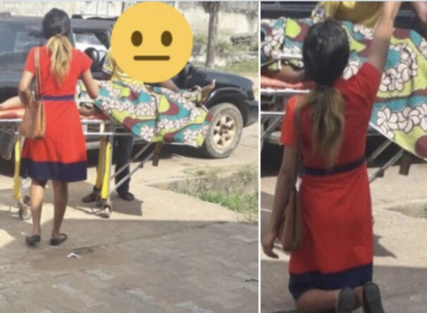 ''Why Did You Not Answer Me?'' Lady Questions Jesus Christ After A Failed Attempt To Raise The Dead In A Lagos Hospital