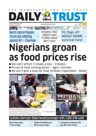 Daily Trust headline